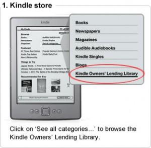 Kindle-Bücher ausleihen (Bild: Amazon)