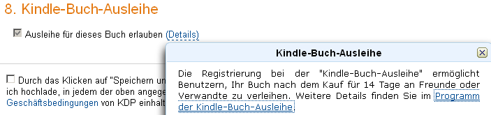 Kindle-Verleihprogramm
