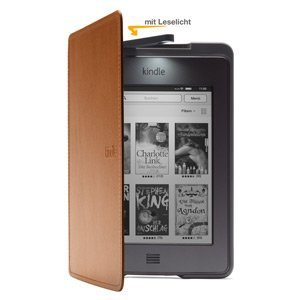 Kindle Touch (hier mit Hülle, Bild: Amazon)