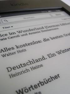 Dateien auf den Kindle übertragen