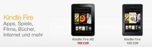 Kindle Fire und Kindle Fire HD - Amazons Tablets für Deutschland (Bild: amazon)