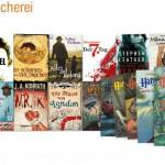Eine kleine Auswahl des Sortiments der Kindle-Leihbücherei