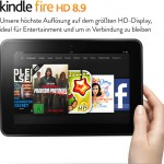 Der Kindle Fire HD 8.9 - nun bei Amazon.de (Bild: amazon)