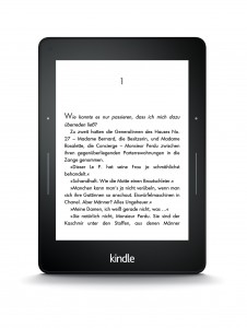 Kindle Voyage - (c) by Amazon - Kindle_Voyage_front