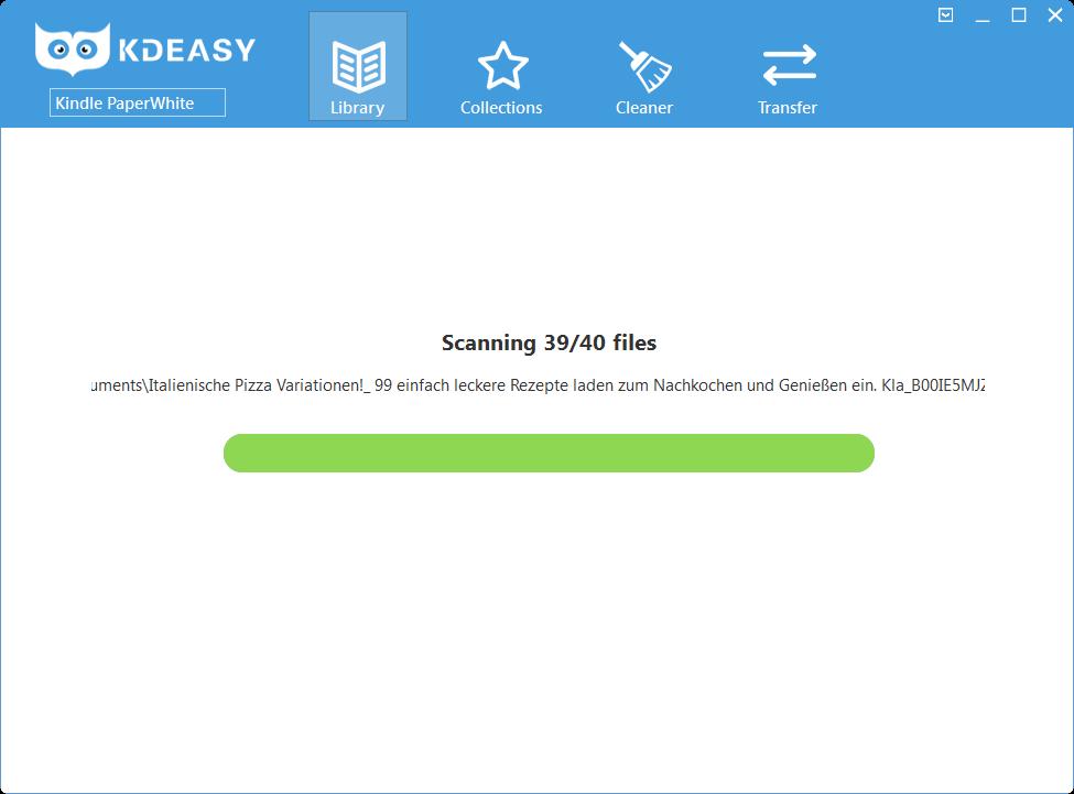 KDeasy (3): Es hat geklappt, die Verwaltung kann beginnen!