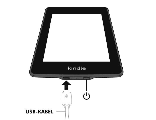 Kindle Paperwhite: Ein-und-Aus-Schalter (Bild: Amazon)