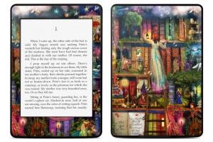 Kindle-Zubehör (hier: Skin, Quelle: Decalgirl)
